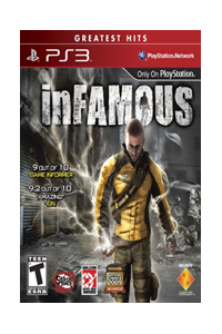 infamous ps3 frame Most Wanted PS3 Games 2010