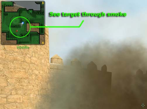 Counter Strike smoke grenade
