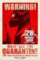 One Sheet for 28 Weeks Later