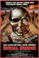 One Sheet for Burial Ground the Nights of Terror