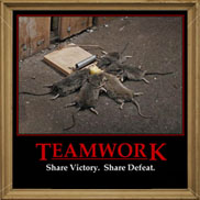Teamwork - Share Victory, Share Defeat Spray