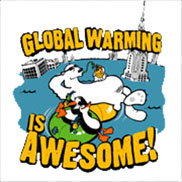 Global Warming is Awesome Spray