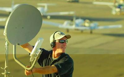 Handheld Satellite Dish