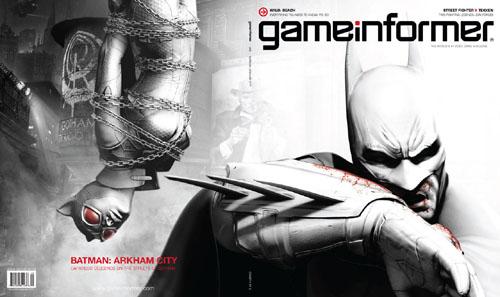 Game Informer Batman Arkham City Cover 2