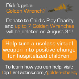 TF2 Golden Wrench Charity