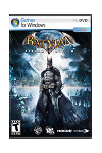 Buy Batman Arkham Asylum for PC Now