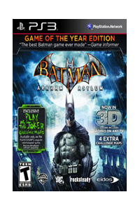Buy Batman Arkham Asylum GOTY Edition Now