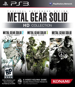 Metal Gear Solid HD Colleciton Box Art for PS3