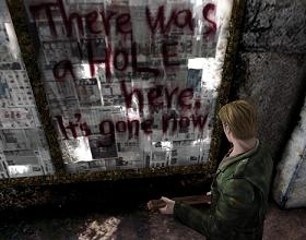 Silent Hill 2 PS2 - There was a hole here