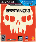 PS3 Resistance 3 Box Art