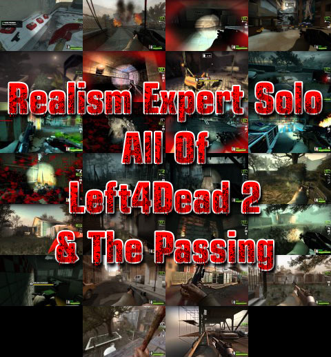 Realism Expert Solo Left 4 Dead 2 Complete