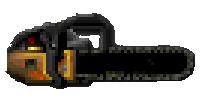 Doom Chainsaw Sprite
